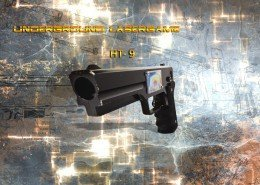 Lasertag Berlin-HT9 Tagger Front