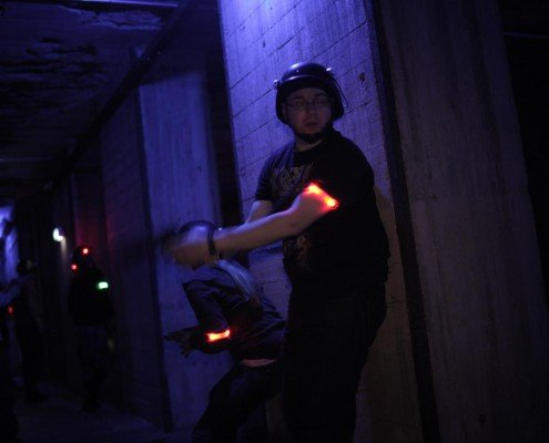 Lasertag in Berlin-Lasergame Fire Action