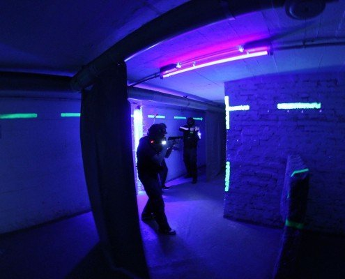 Lasertag in Berlin-Special Forces Team by Underground Lasergame