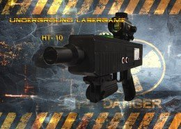 Lasertag Berlin-HT10 Tagger Front