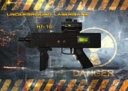 Lasertag Berlin-HT10 Tagger Side