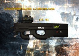 Lasertag Berlin-P90 Tagger Side