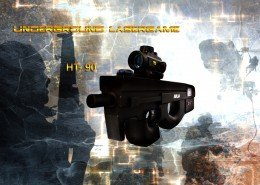 Lasertag Berlin-P90 Tagger Front