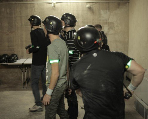 Lasertag in Berlin-Start Lasergame by Underground Lasergame