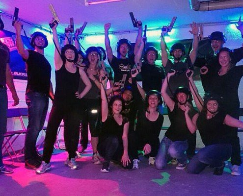 Lasertag in Berlin-Team Battle by Underground Lasergame