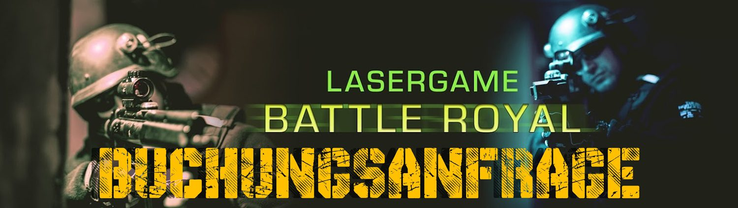 Lasertag Berlin-Buchungsanfrage Battle Royal Games Package