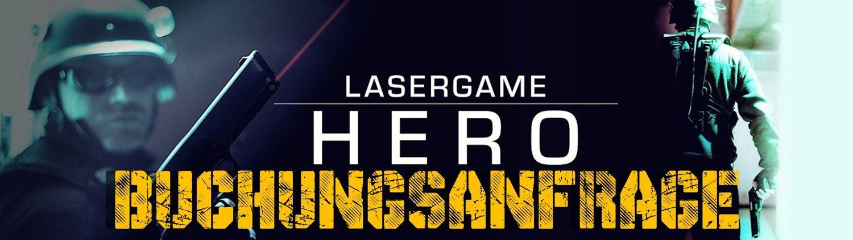 Lasertag Berlin-Buchungsanfrage Hero Games Packes