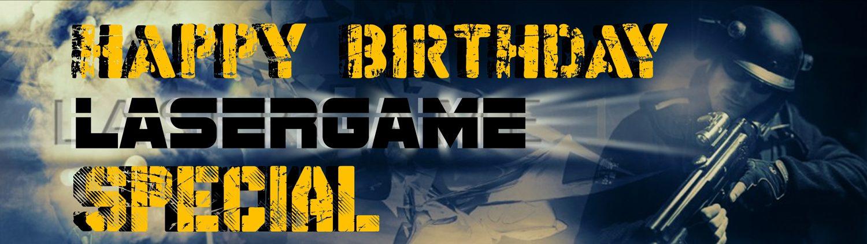 Lasertag Berlin - Dein Geburtstagspaket bei Underground Lasergame