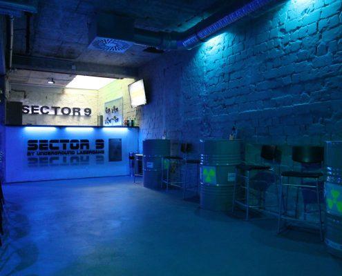 Lasertag Berlin - Willkommen im SECTOR 9