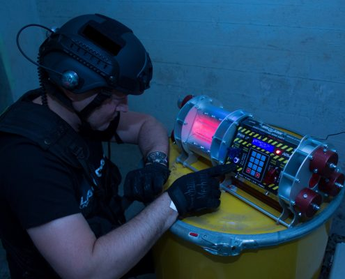 Lasertag Berlin - Live Escape Game mit Bombe
