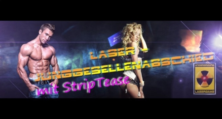 Lasertag Berlin - Ticket Junggesellenabschied