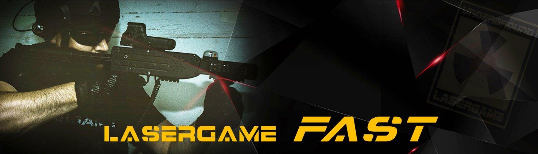 Lasertag Berlin - Lasergame Fast - 60 Minuten mit zwei verschiedenen Games