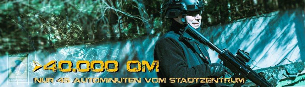 Lasertag Berlin - Underground Lasergame bei Berlin - auf über 40000 qm - jetzt buchen