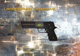 Lasertag Berlin-HT9 Tagger Side