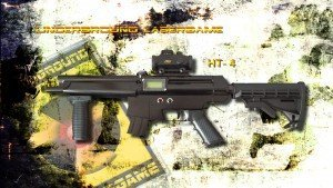 Lasertag Berlin-HT4 Tagger Side