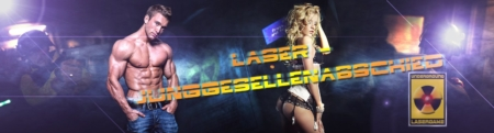 Lasertag in Berlin-Junggesellenabschied mit Stripshow