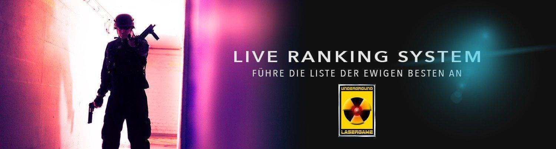 Lasertag in Berlin - Live Ranking System by Underground Lasergame