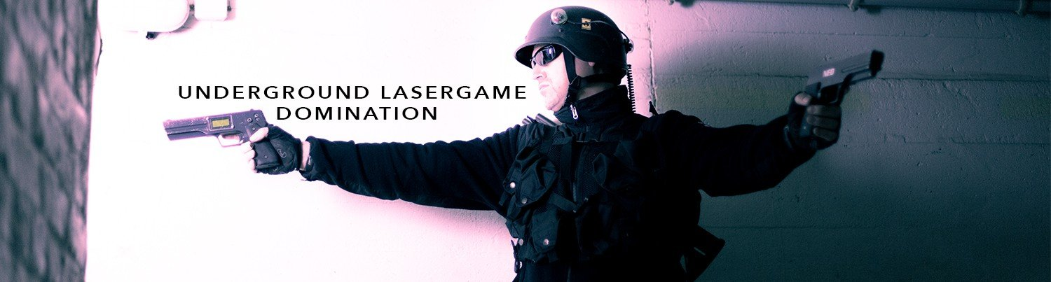 Lasertag in Berlin - Domination by Underground Lasergame