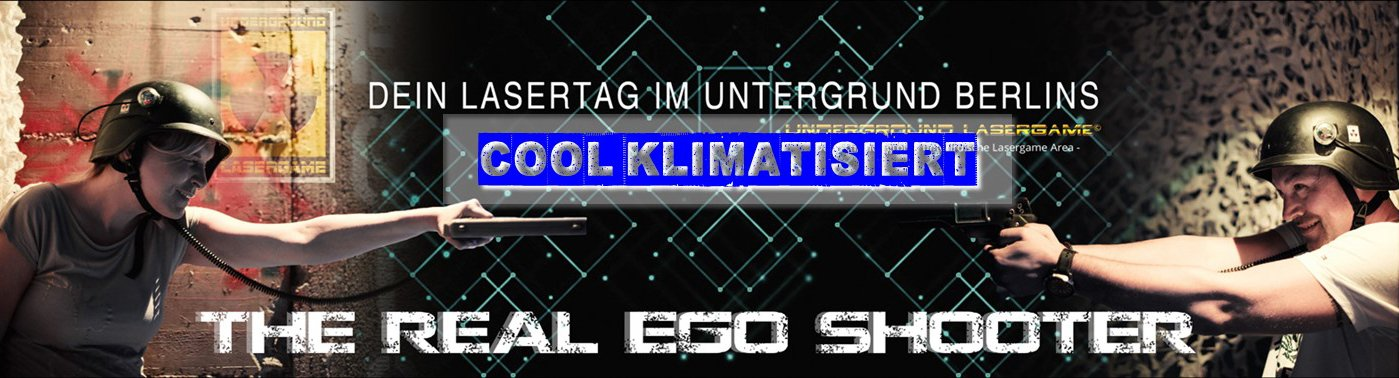 Lasertag Berlin - The real Ego Shooter Game