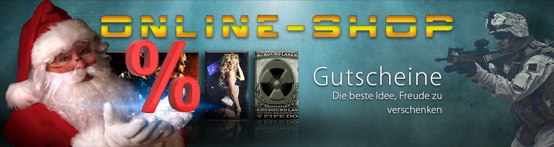 Lasertag Berlin - Zu Weihnachten Lasergame verschenken - jetzt im Online Shop von Underground Lasergame
