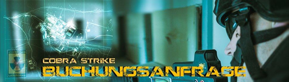 Lasertag Berlin - Underground Lasergame bei Berlin - sende uns Deine Buchungsanfrage für das Outdoorgame Cobra Strike