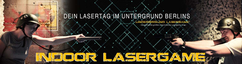 Lasertag Berlin - Indoor Lasergame in Berlin in einem unterirdischen Bunker