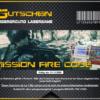 Lasertag Berlin - Gutschein Muster für das Lasergamepaket Mission Fire Code