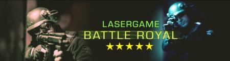 Lasertag Berlin - spiele das Lasergamepaket Battle Royal, mit 5 unterschiedlichen Games in 120 Minuten