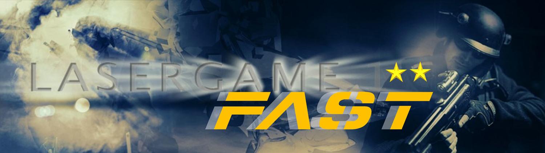 Lasertag Berlin - spiele das Lasergamepaket Fast, mit 2 unterschiedlichen Games in 60 Minuten