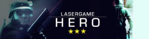 Lasertag Berlin - spiele das Lasergamepaket Hero, mit 3 unterschiedlichen Games in 90 Minuten