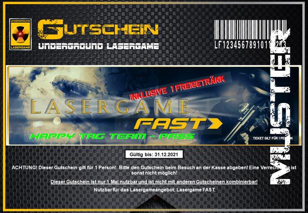 Lasertag Berlin-Happy Tag Team Fast by Underground Lasergame