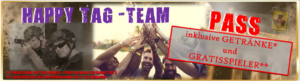 Lasertag Berlin-Happy Tag Team Pass inklusive Getraenk
