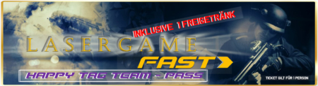Lasertag Berlin-Happy Tag Team Lasergamepacket Fast by Underground Lasergame