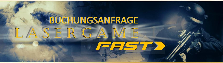 Lasertag Berlin-spiele das Lasergamepaket Fast, mit 2 unterschiedlichen Games in 60 Minuten