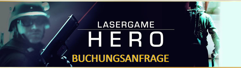 Lasertag Berlin-spiele das Lasergamepaket Hero, mit 3 unterschiedlichen Games in 90 Minuten
