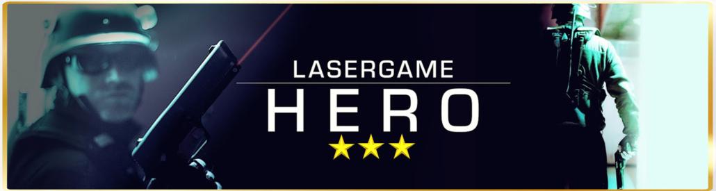 Lasertag Berlin-spiele das Lasergamepaket Hero, mit 3 bis 4 unterschiedlichen Games in 90 Minuten