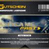 Lasertag Berlin - Gutschein Muster für das Lasergamepaket Fast
