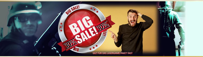Lasertag Berlin - Summer Sale - Jetzt sparen und Lasertag spielen