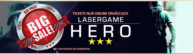 Lasertag Berlin-Sale Lasergamepacket Hero by Underground Lasergame