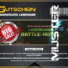 Lasertag Berlin-Ticket Muster für das Lasergamepaket BATTLE ROYAL